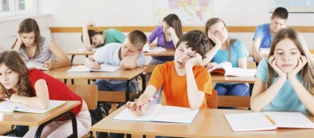 Las clases aburridas son mayoría en la escuela