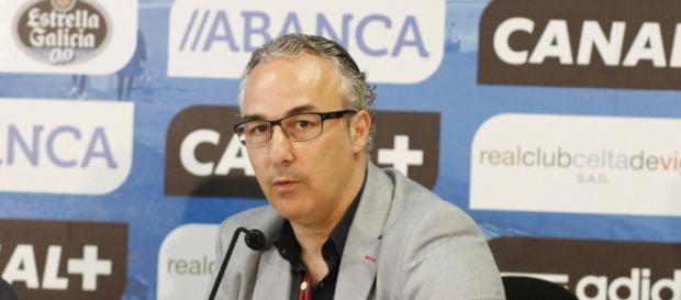 Miguel Torrecilla se despide del Celta