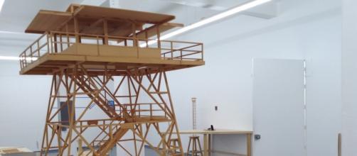 Construcción caótica de un espacio a través de la instalación efímera