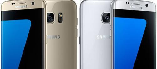 El samsung Galaxy s7 Edge posee un moderno diseño.