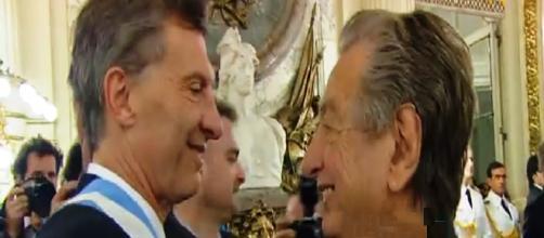 Mauricio y Franco Macri parte del cla TVP
