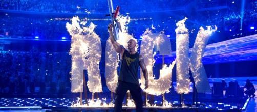 The Rock at WrestleMania 32 (WWE Network/WrestleMania 32)