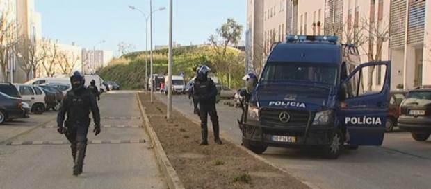 Agentes da PSP voltam ao Bairro da Ameixoeira