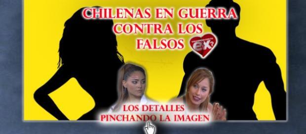 Chilenas en guerra contra Oriana