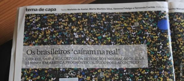 Crise no Brasil é matéria de capa em revista portuguesa