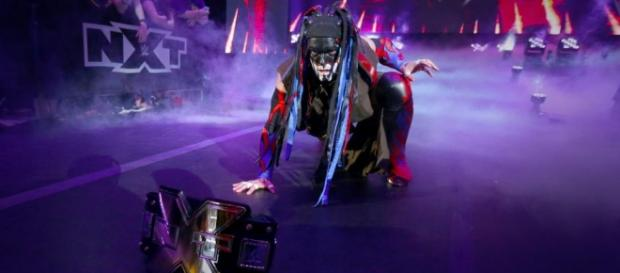 Finn Balor at 'NXT TakeOver: Dallas'/Photo via WWE Network.