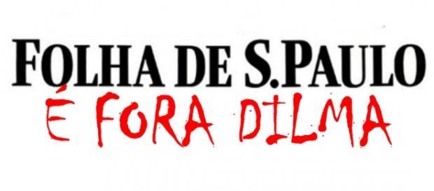 'Folha' pede a renúncia de Dilma Rousseff