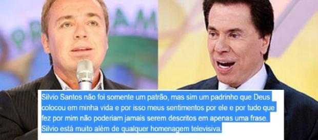 Gugu desabafa sobre relação com Silvio Santos
