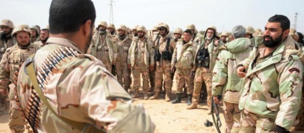 Militari siriani, protagonisti nella liberazione di Palmira