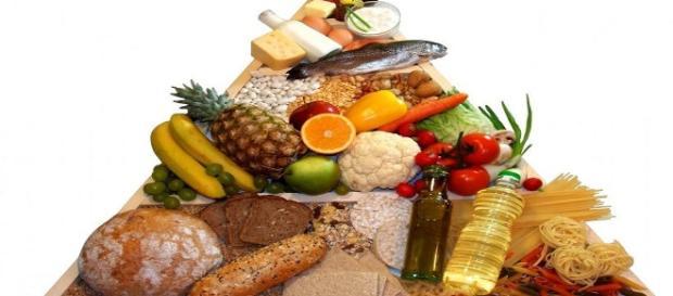 Piramide de la dieta mediterránea