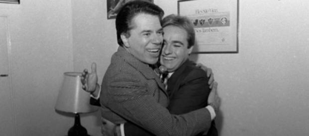 Silvio Santos e Gugu - Foto/Divulgação: SBT