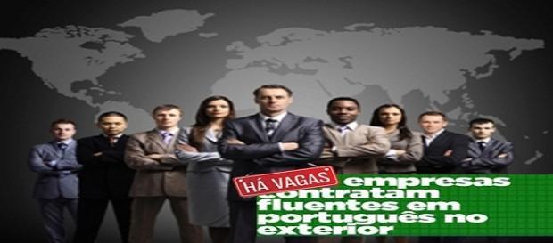 Vagas de emprego pelo mundo para fluentes de português
