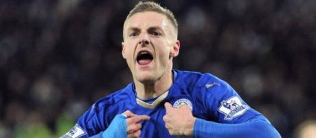 Jamie Vardy, o 'matador' da equipe do Leicester