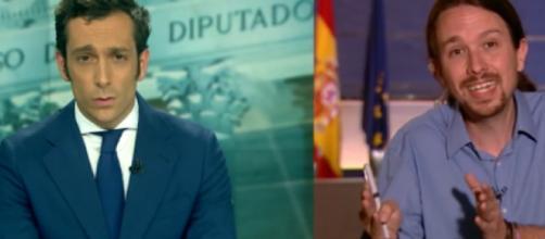 El periodista de Antena 3 no rectifica una información falsa.