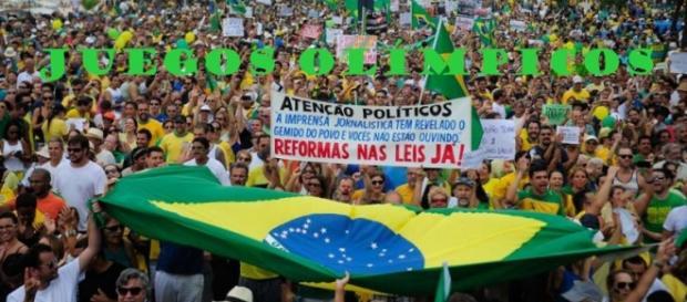 Ambiente muy tenso en Río de Janerio