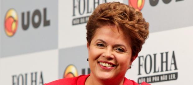 Dilma em debate da Folha (Foto: Wikimedia Commons)