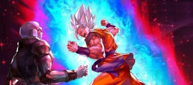 Gokú SSJ Dios blanco vs Hit 2017