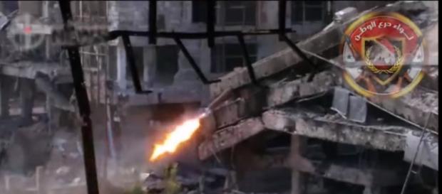Snajper został wyeliminowany pociskiem rakietowym.