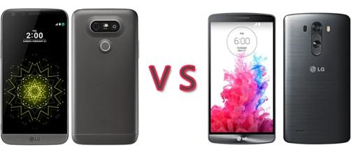 Confronto smartphone LG: G5 vs G3