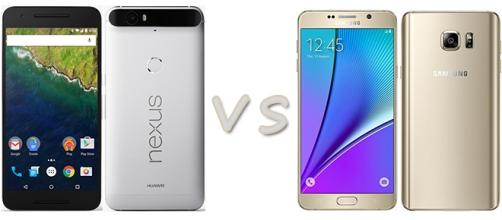 Huawei Nexus 6P vs Samsung Galaxy Note 5