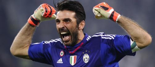 Il capitano della Juventus, Gigi Buffon