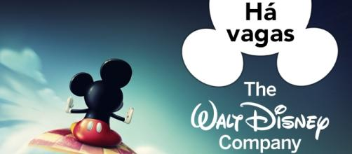 Vagas abertas na Walt Disney Company.