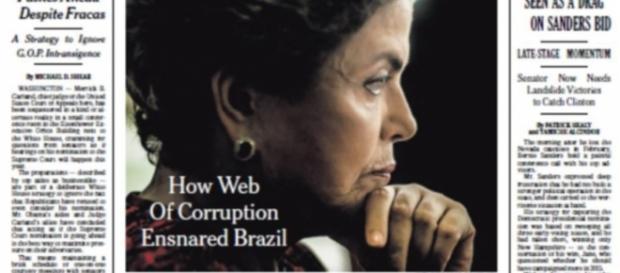 Crise no Brasil é destaque no The New York Times