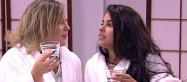 Maria Claudia e Munik - Foto/Reprodução: Globo
