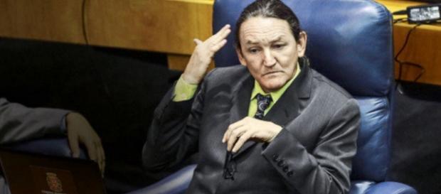 Marquito na Câmara dos vereadores - Imagem: Veja