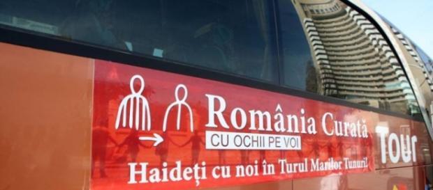 Turul MArilor Tunuri organizat de România Curată