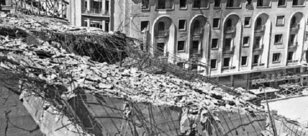 Urmările bombardamentului din 1944
