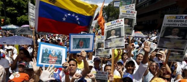 Venezuela en protesta por los presos politicos