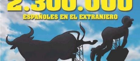 Portada de 'El Jueves' con los españoles ya en otros países.