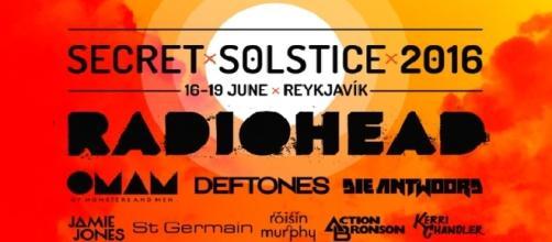"""Del 16 al 19 de Junio se celebrará """"Secret Solstice"""" en Reykjavík"""