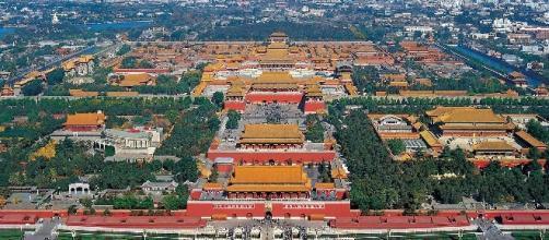 Panorámica de la Ciudad Prohibida de Pekín