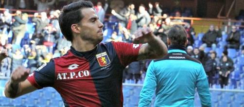 Suso, attaccante del Genoa in prestito dal Milan