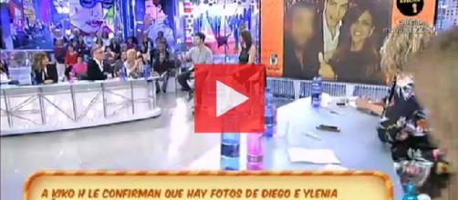 Ylenia y Diego Matamoros: las fotos del beso