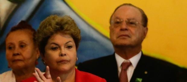 Dilma e Maluf em encontro em São Paulo