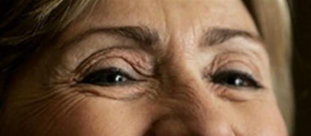 Hillary Clinton laughing. kansleo Flikr free photos