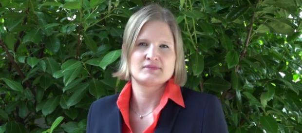 Katrin Ebner Steiner (37) von der AfD Bayern
