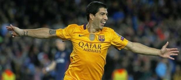 Luis Suárez fue el autor de los dos goles del Barça