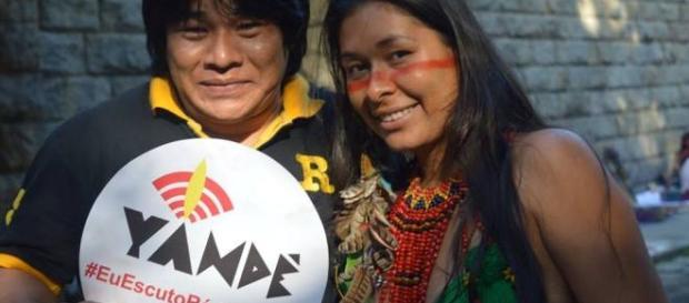 Rádio Yandê é a primeira webrádio indígena do Brasil (Foto: Reprodução/Facebook)
