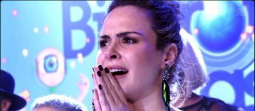 Ana Paula na final do BBB16 (Reprodução/Globo)