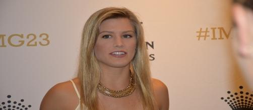 Bouchard at the Australian Open Players' Party in 2015/ Photo: Tourism Victoria (Flickr)