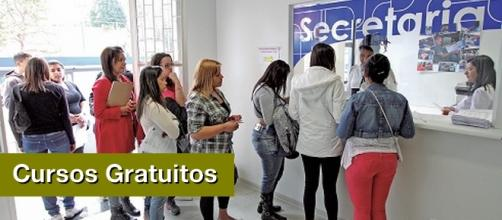 Cursos gratuitos na cidade de Diadema (Foto: Adonis Guerra)