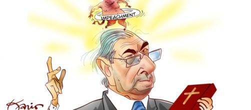 Eduardo Cunha tem se mostrado um ótimo manipulador de fantoches.