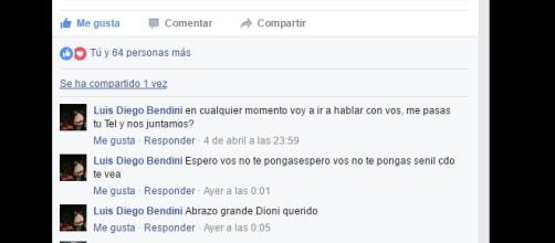 El profesor Astorga amenazado por unos de los hijos del denunciado Benditi