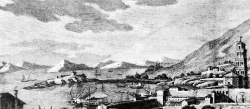 Lazareto na margem sul, Porto Brandão