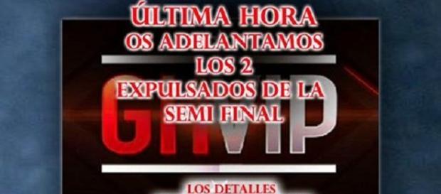 Adelantamos la semifinal de GH VIP 4