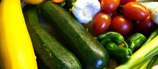 Fotografía de hortalizas y verduras.